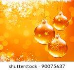 Vector Illustration Of Orange...