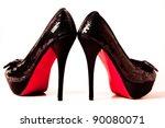 Pair Of High Heels Shoes