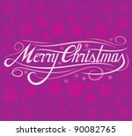 christmas card illustration ...   Shutterstock .eps vector #90082765