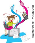 business | Shutterstock .eps vector #90082990