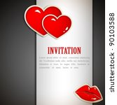 The Valentine's Day. Invitatio...