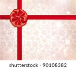 vector christmas background.... | Shutterstock .eps vector #90108382