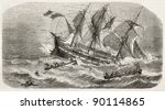 French Vessel Imperatrice Du...