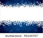 christmas background. vector... | Shutterstock .eps vector #90140707
