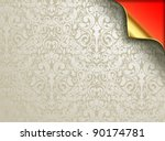 vector wallpaper design with... | Shutterstock .eps vector #90174781