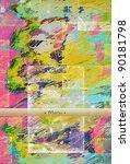 retro texture background | Shutterstock . vector #90181798