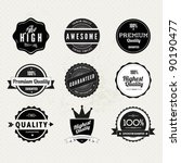 collection of premium quality... | Shutterstock .eps vector #90190477