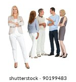 portrait of confident young... | Shutterstock . vector #90199483