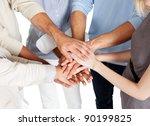 closeup of a business... | Shutterstock . vector #90199825