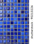 blue mosaic tiles. abstract... | Shutterstock . vector #90213226