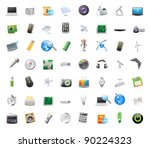56 detailed vector icons for...