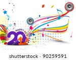 New Year 2012 Music Poster...