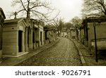Graveyard Pere Lachaise In...