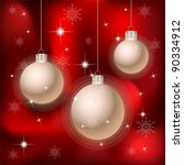 christmas and new year...   Shutterstock .eps vector #90334912