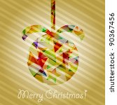 eps 10 vector christmas tree... | Shutterstock .eps vector #90367456