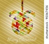 eps 10 vector christmas tree... | Shutterstock .eps vector #90367456