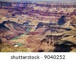 canyon vista - stock photo