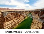 navajo bridge over the colorado ... | Shutterstock . vector #90463048