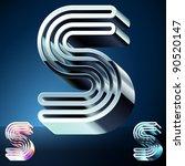 three dimensional ultra modern... | Shutterstock .eps vector #90520147