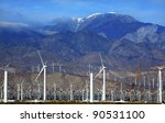Wind Turbines Coachella Valley...