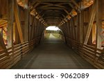 A Picture Of A Covered Bridge...