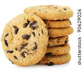 A Stack Of Chocolate Chip...