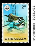 grenada   circa 1977  a stamp... | Shutterstock . vector #90631411