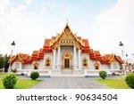 beautiful thai temple wat... | Shutterstock . vector #90634504