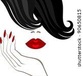 makeup   Shutterstock .eps vector #90650815