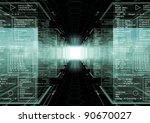 tech cubes   Shutterstock . vector #90670027