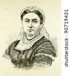 Portrait Of Victoria    Queen...
