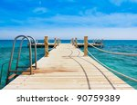 jetty into heaven | Shutterstock . vector #90759389