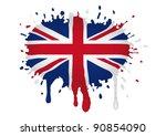 sketch germany flag | Shutterstock .eps vector #90854090