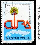 cuba   circa 1978  a stamp...   Shutterstock . vector #90941168