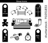 Sleep Icons  Teddy Bear  Comfy...