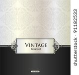 vector. restaurant menu design | Shutterstock .eps vector #91182533