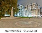 King George V Statue Near...