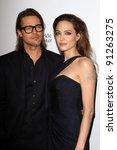 Постер, плакат: Brad Pitt Angelina Jolie