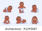 many babies | Shutterstock . vector #91295087