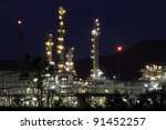 beautiful of oil and gas... | Shutterstock . vector #91452257