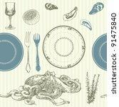Seamless Background  Kitchen