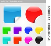 image of various colorful... | Shutterstock .eps vector #91488809