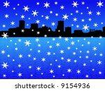 baltimore inner harbor in... | Shutterstock .eps vector #9154936