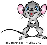 mouse | Shutterstock . vector #91568342