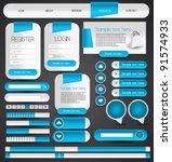 hi quality web designing...   Shutterstock .eps vector #91574933
