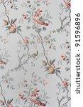 Vintage Wallpaper   Floral...