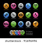 medical icon set    the file... | Shutterstock .eps vector #91696496