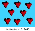 this is a loving heart for... | Shutterstock . vector #917445