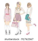Young Fashion Girls...