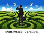 a vector illustration of a... | Shutterstock .eps vector #91780841
